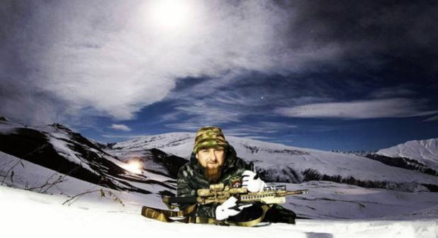 Kadyrov decides he will be better understood with a rifle / instagram.com/kadyrov_95