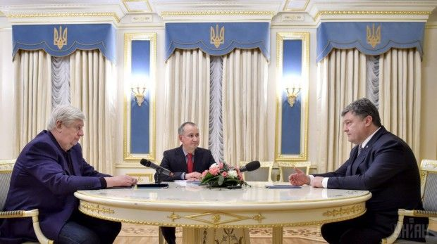 Shokin and Hrytsak reported to the President about the discovery of weapons that were fired in the Maidan / Photo from UNIAN