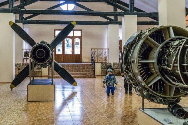 Экспонаты Музея космонавтики / Фото УНИАН