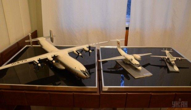 Модели самолетов в кабинете-музее генерального авиаконструктора Антонова / Фото УНИАН