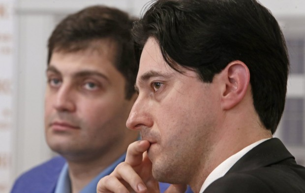 Kasko (right) says he cannot continue to work for the PGO over corruption / Photo from UNIAN