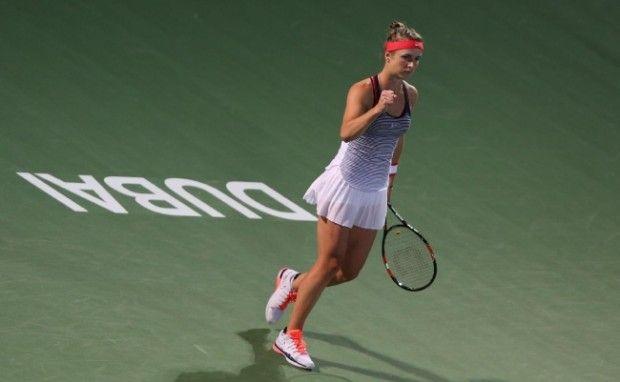 Свитолина вышла в полуфинал теннисного турнира в Дубаи