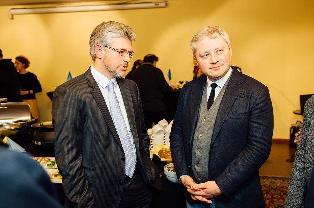 Ігорь Янковський та Посол України в ФРН Андрій Мельник