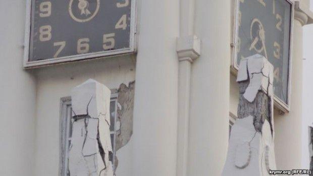 В Севастополе разрушается одна из местных достопримечательностей / krymr.ogr