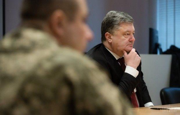 Порошенко ожидает от правительства четкий план действий в отношении защиты интересов Украины в суде / Фото УНИАН