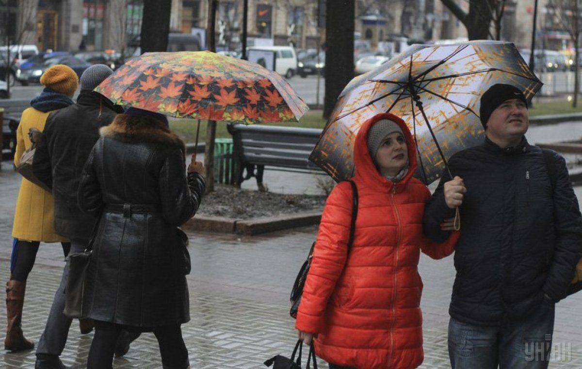 Погода, дождь / Фото УНИАН