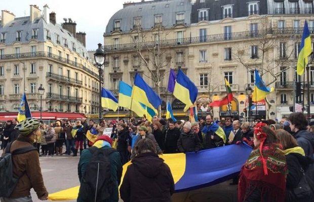 У країнах Європи пройшли мітинги проти російської агресії в Україні - фото 1