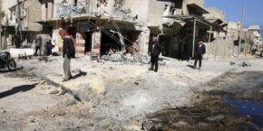 Жертвами боев возле сирийского Алеппо стали по меньшей мере 120 человек - правозащитники