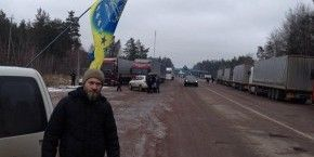 Rally against transit of Russian cargo trucks stretches to Zhytomir region (photos)