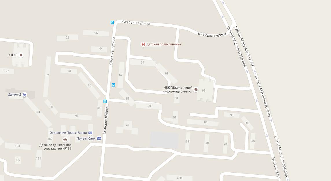 Улица Маршала Жукова, Мариуполь / Скриншот