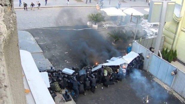 дерибасовская одесса беспорядки 2 мая 2014 / youtube.com
