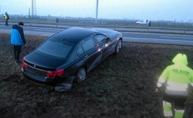Після аварії Дуда пересів в іншу машину свого кортежу