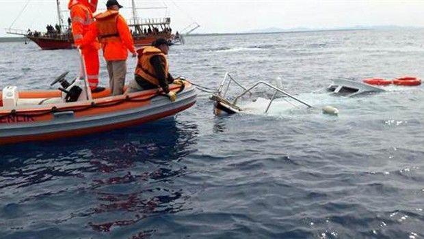 мигранты лодка турция / hurriyet.com.tr