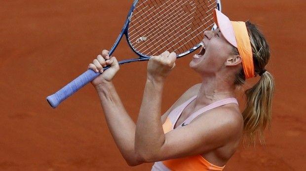 Мария Шарапова во второй раз в карьере выиграла Открытый чемпионат Франции / Reuters