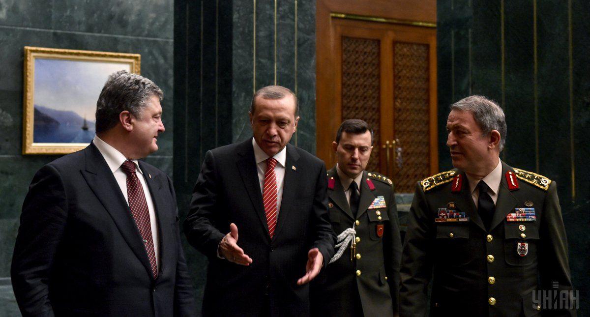 Порошенко и Эрдоган / Фото УНИАН