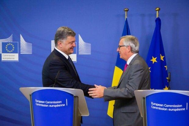 порошенко юнкер / president.gov.ua