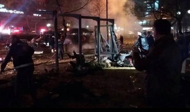 В Анкаре прогремел взрыв, есть жертвы / @metesohtaoglu