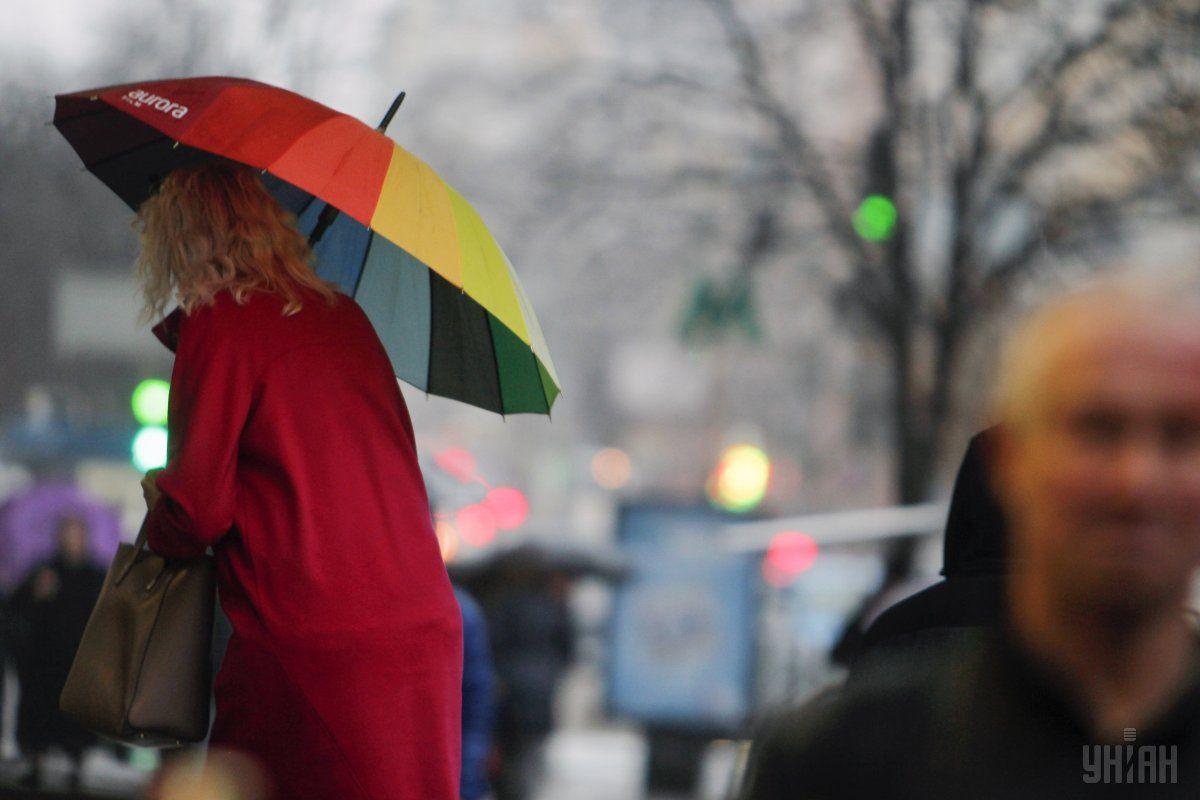 Завтра в Украине ожидается дождь и мокрый снег / Фото УНИАН
