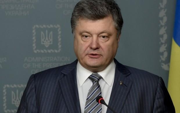 Порошенко обещает обеспечить мир на Донбассе / фото УНИАН