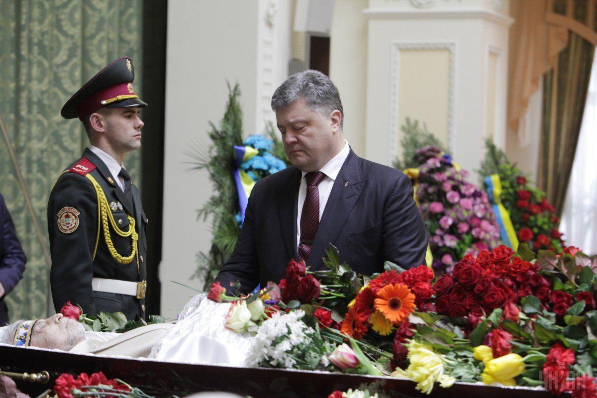 порошенко танюк прощание похороны / Фото УНИАН