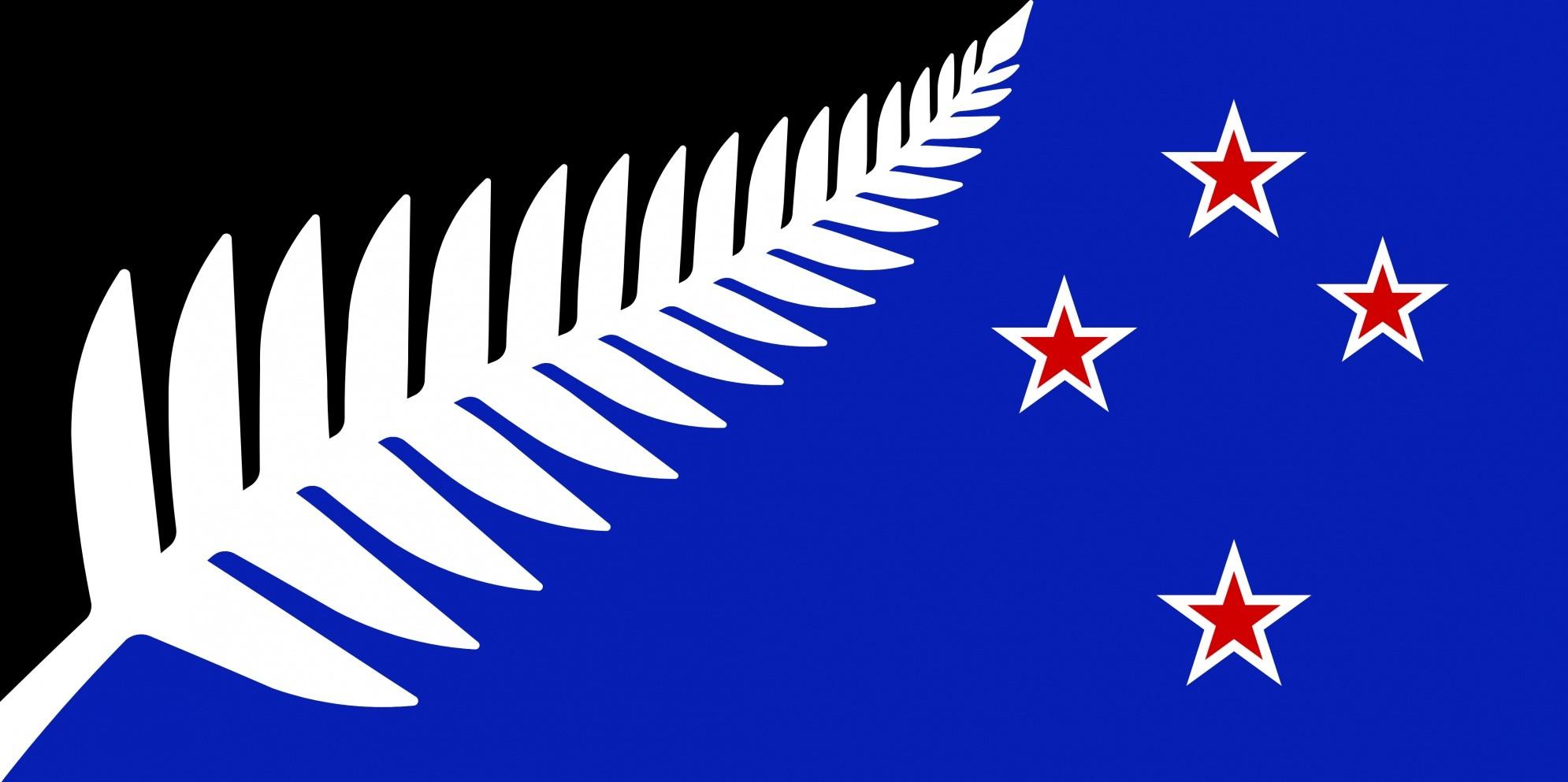 флаг новая зеландия (альтернативный) / govt.nz