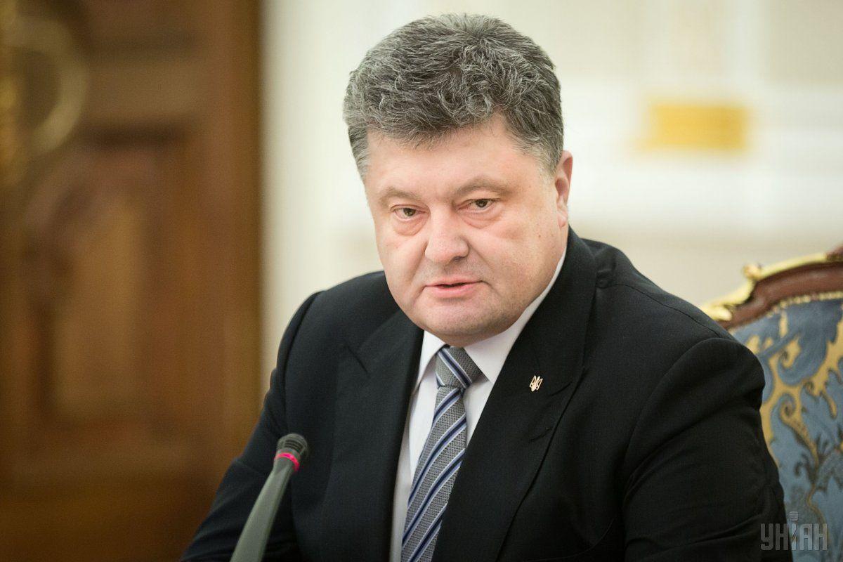 Порошенко упростил процедуру предоставления гражданства иностранцам в ВСУ / Фото УНИАН