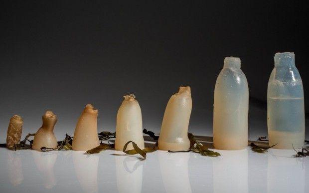 Бутылки из агар-агара / icelanddesign.is