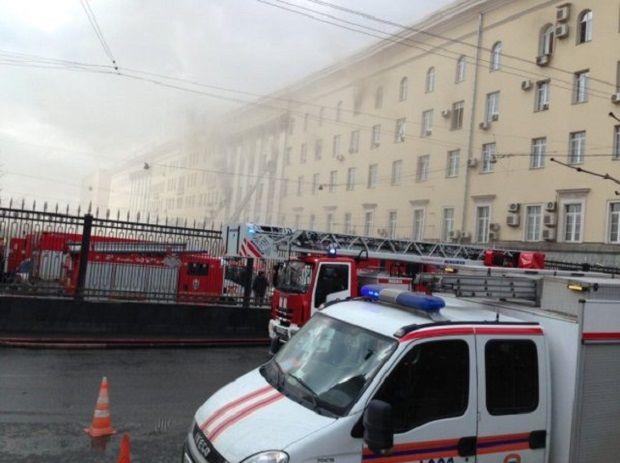 Минобороны РФ, пожар / twitter@vorliamov