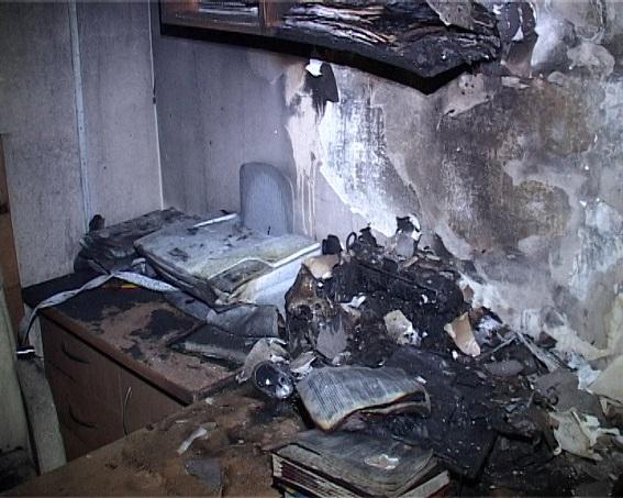 Полиция расследует поджог кабинета судьи Голосеевского райсуда