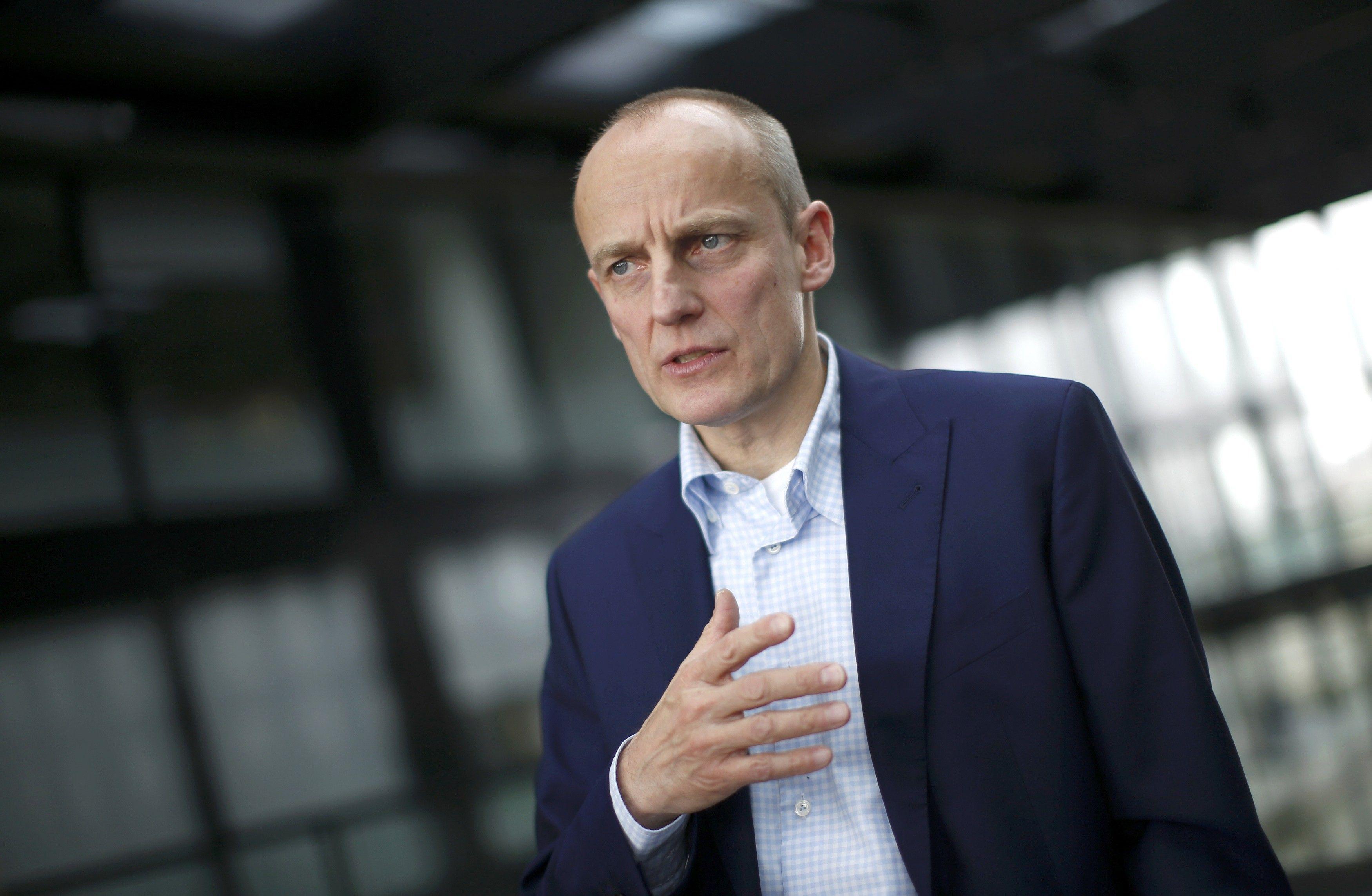 Главный редактор Süddeutsche Zeitung Вольфганг Крах / REUTERS
