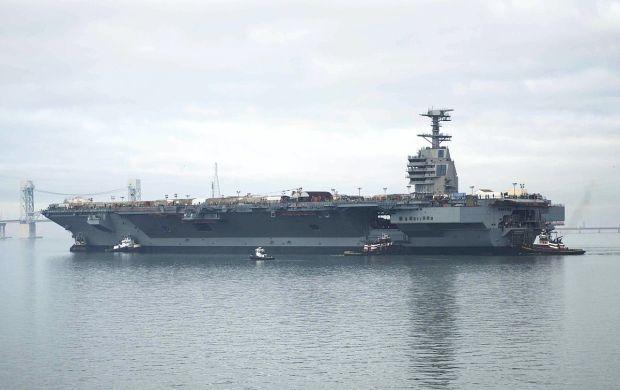 В сентябре к ВМФ США присоединится самый большой в мире авианосец стоимостью почти $13 миллиардов