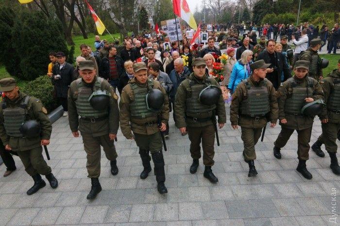 Полиции удалось предотвратить новые столкновения / Dumskaya.net