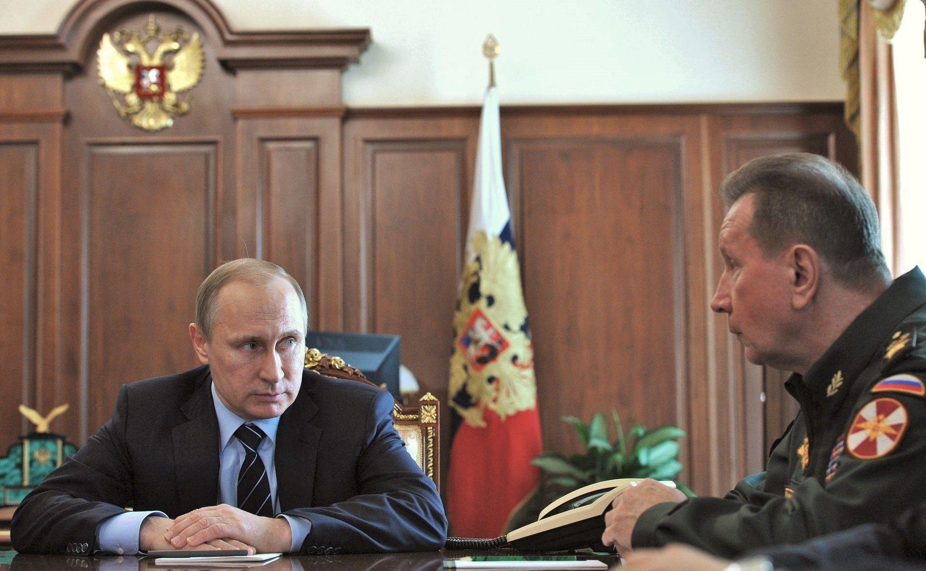 Путин и Золотов / Kremlin.ru