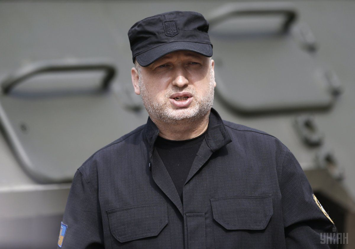 Turchynov told of Russia's plans to disrupt the implementation of the Minsk agreements / Photo from UNIAN