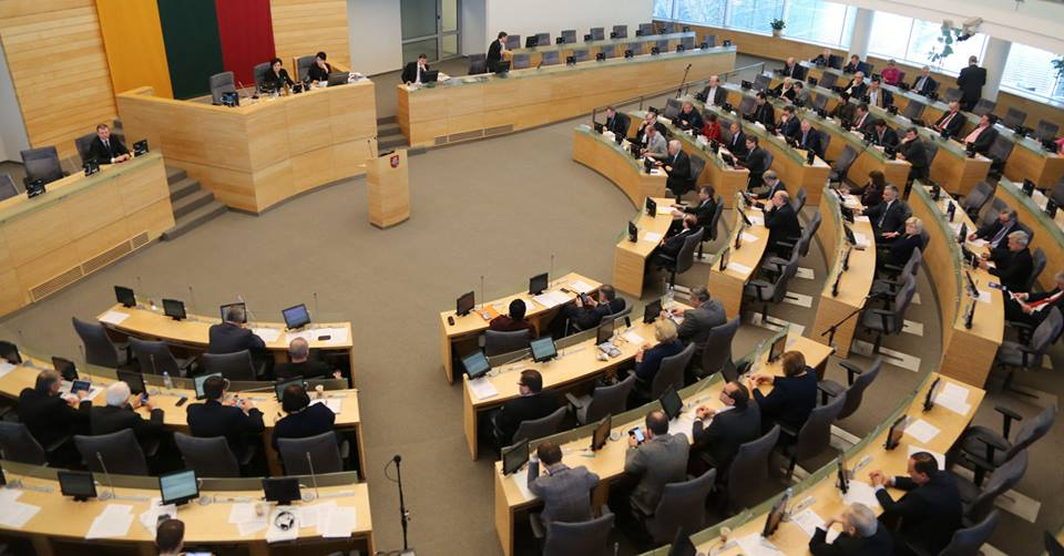 Против рекомендации продлить антироссийские санкции не проголосовал ни один литовский депутат / Фото facebook.com/cpUAct
