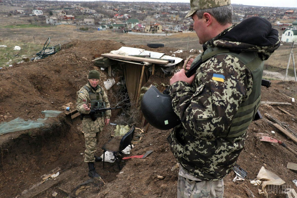 Боевики стреляли по Широкино из минометов / УНИАН