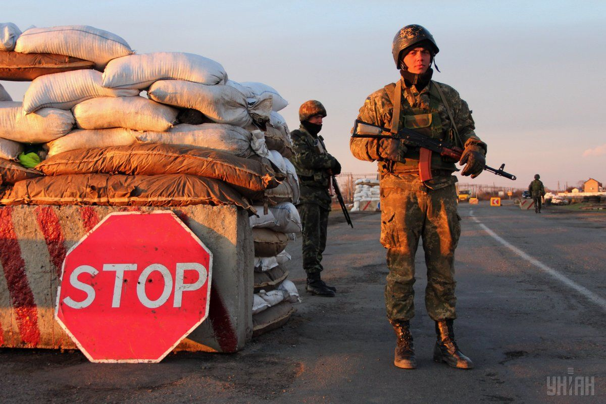 The Chonhar checkpoint resumed operations in both directions at about 11:00 local time on Sunday / Photo from UNIAN