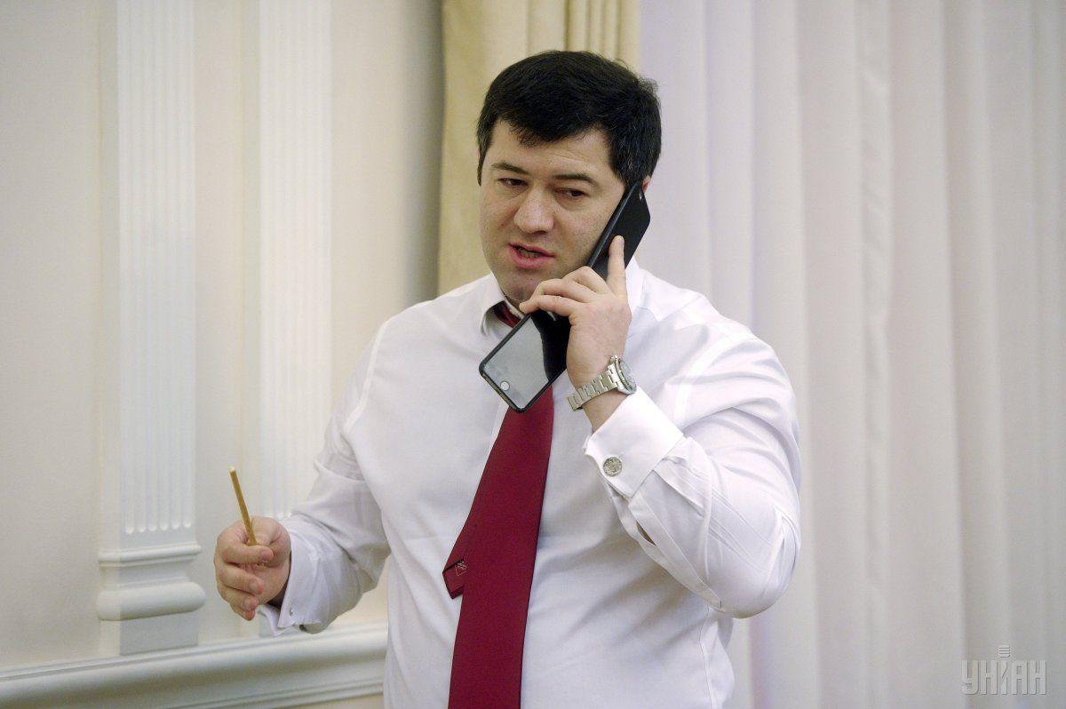 Заробітна плата Насірова за минулий рік становила 36 тис. 096 грн./ Фото УНІАН