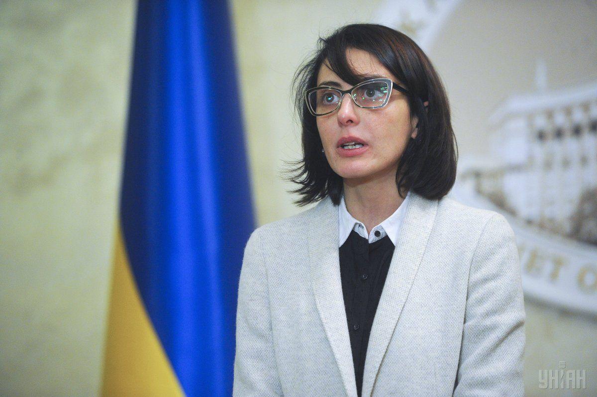 Деканоідзе заявила, що чесна поліція - найбільше її досягнення / Фото УНІАН