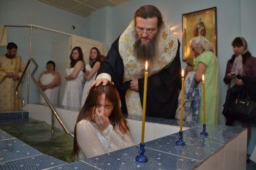 О крещении взрослому человеку