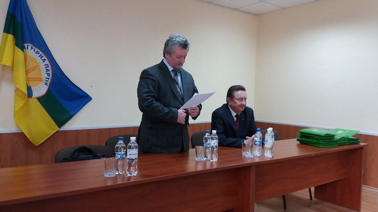 Виталий Цымбалюк Председатель Общественного совета по вопросам здравоохранения, член Политсовета Аграрной партии, Президент Национальной академии медицинских наук Украины