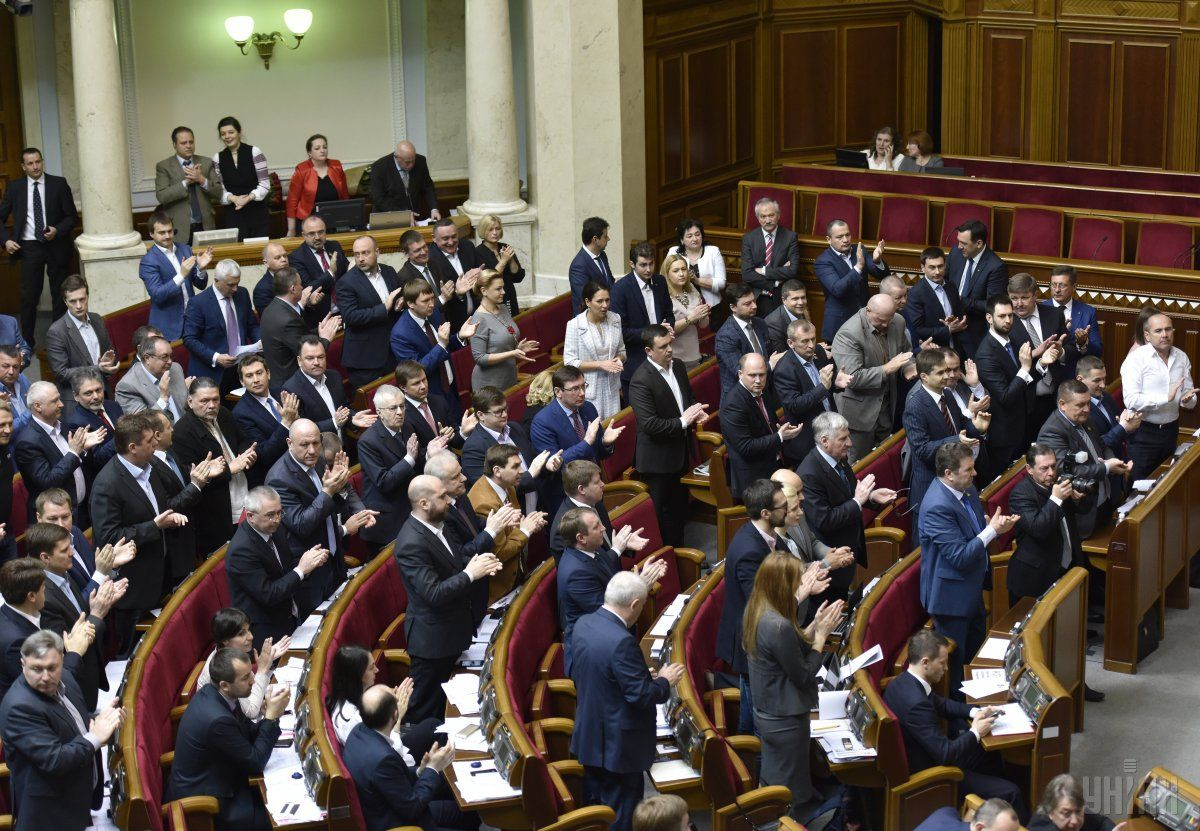 Рада приняла постановление о формировании состава Кабинета министров / УНИАН