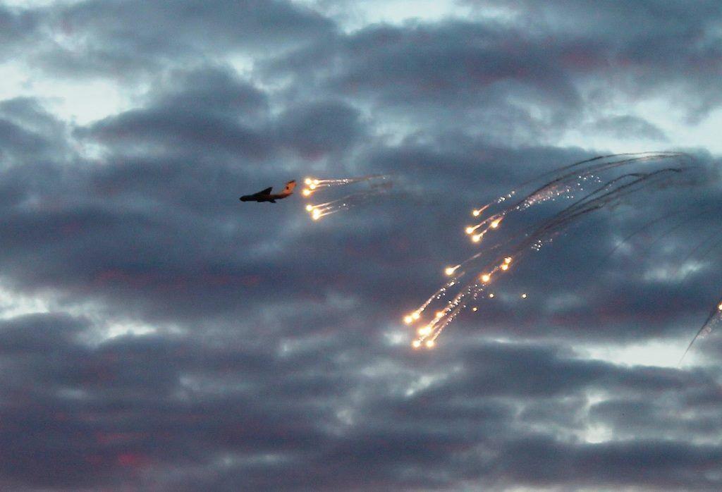 Генштаб обнародовал видео сучений «Небесный щит-2016»