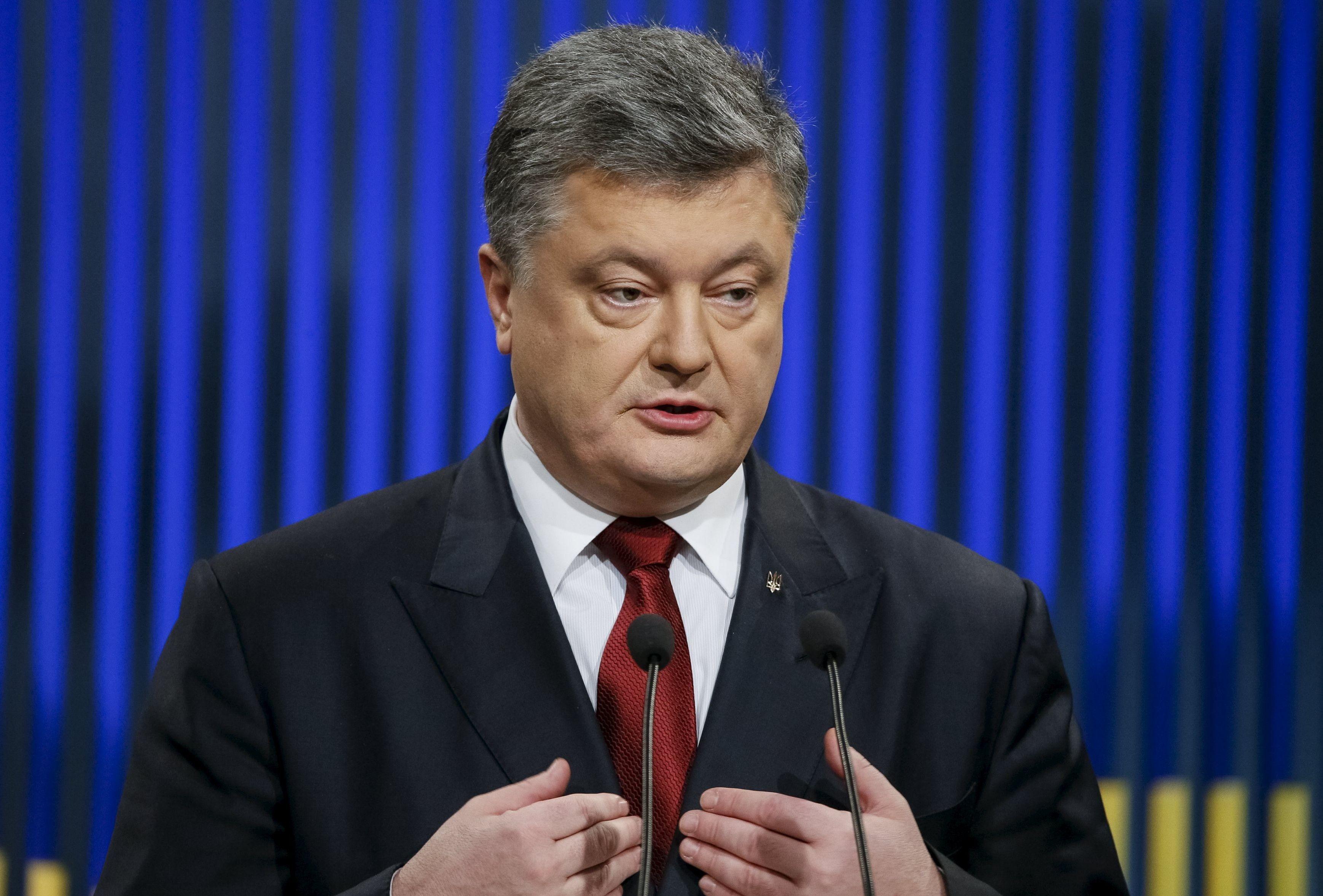 Порошенко объявил опреодолении политического кризиса
