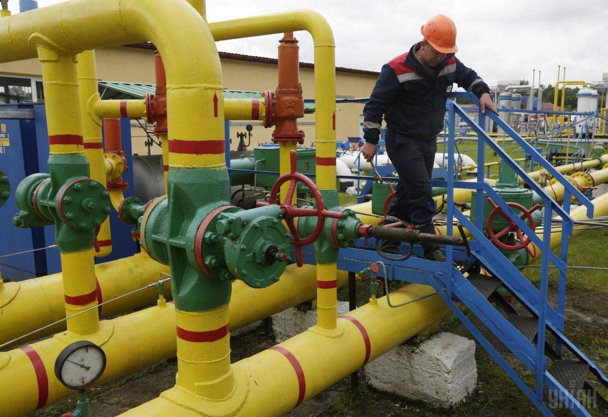 Украина в июне сократила суточный импорт газа из Словакии вчетверо