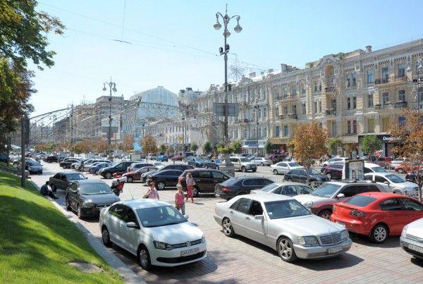 Так тротуар виглядав минулого літа / texty.org.ua