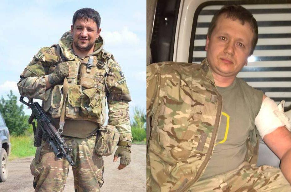 Петро Кузик і Денис Попов / via Facebook