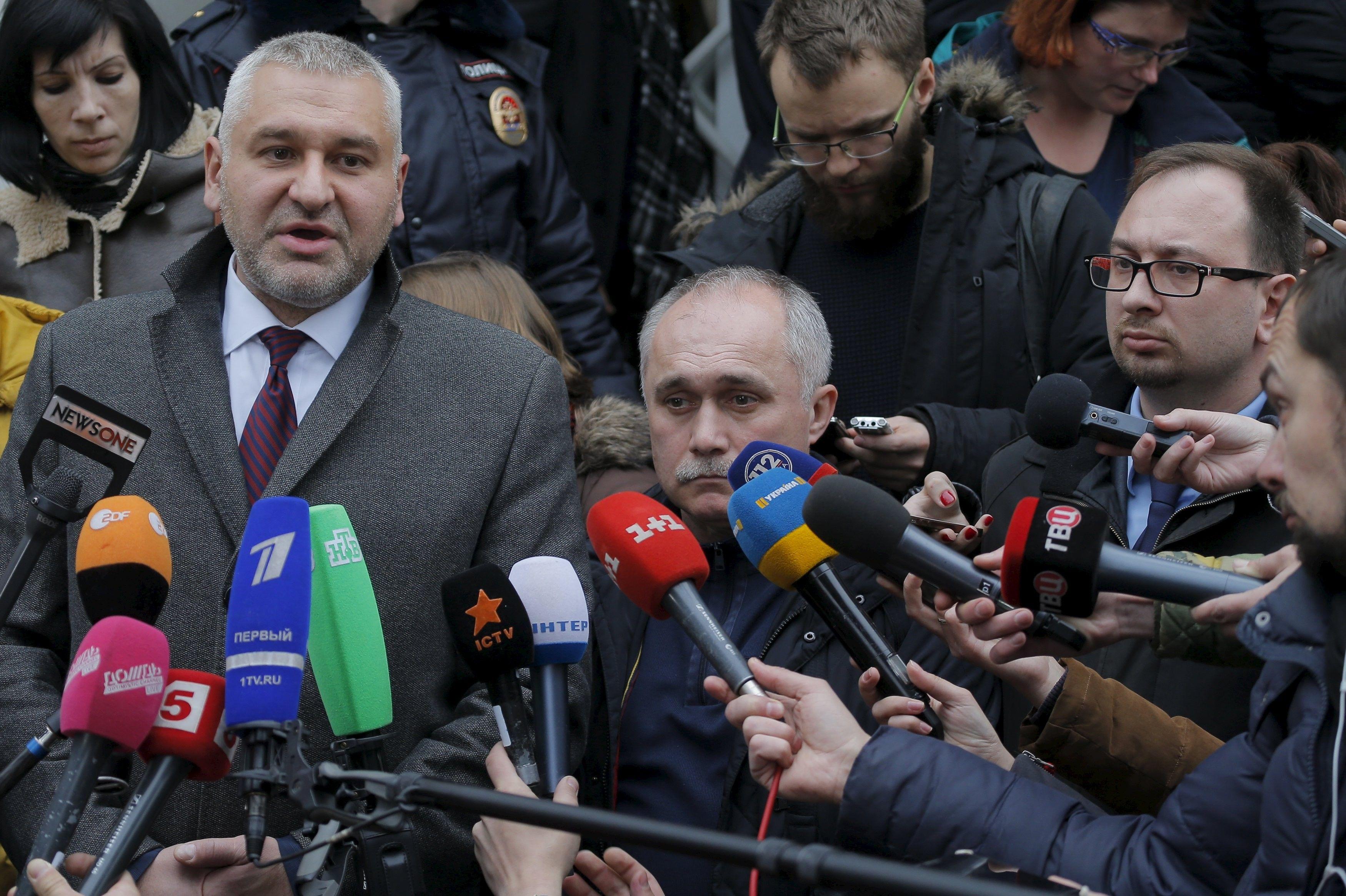 Марк Фейгин, российский адвокат / REUTERS