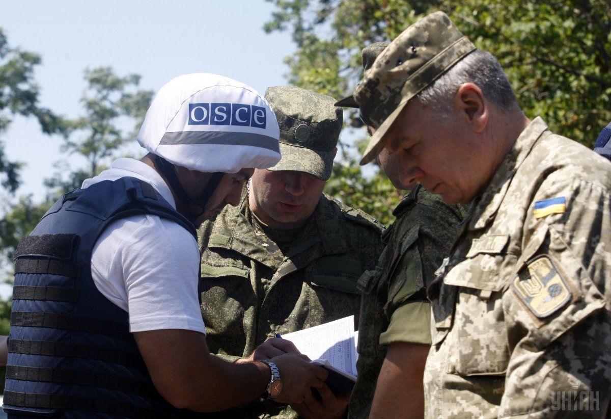 В ОБСЄ поки офіційно не обговорюють питання направлення озброєної поліцейської місії на схід України / фото УНІАН