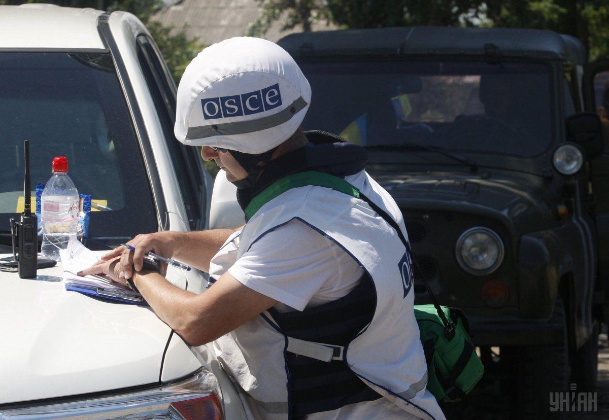 У СММ ОБСЄ розповіли про нові погрози з боку бойовиків / фото УНІАН